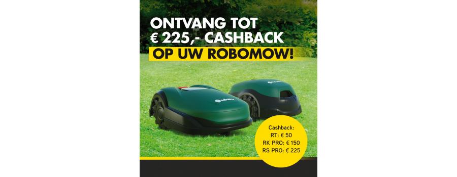 Robomow Cashback