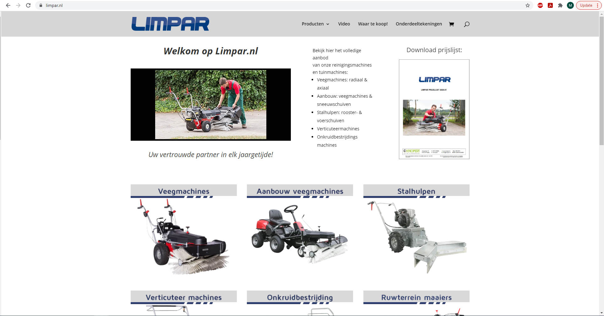 Limpar machines