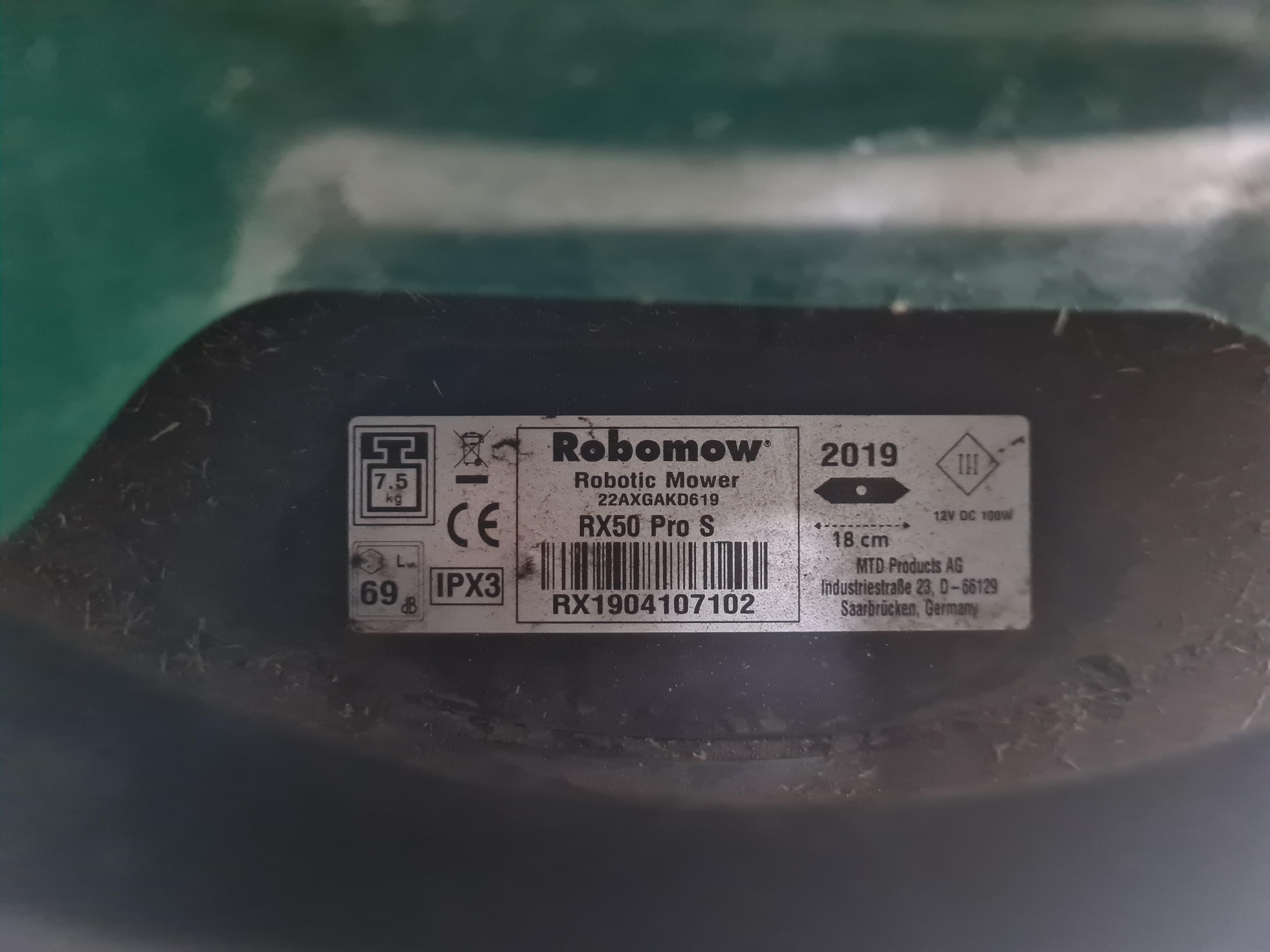 Robomow RX50pro